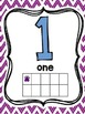 Paw Print Number Posters 1-10