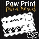Paw Print Token Board