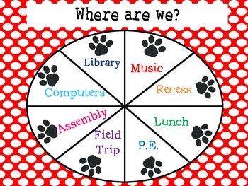 """Paw Print """"Where Are We"""" Poster"""