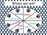 "Paw Print ""Where Are We"" Poster"