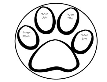 Paw Print/Dog Theme getting to know you