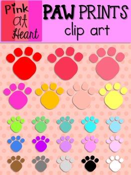 Paw Prints Clip Art