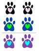 Paw Prints Matching Game!