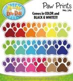 Rainbow Paw Prints {Zip-A-Dee-Doo-Dah Designs}
