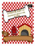 Paw Prints Phonics Box - au/aw