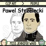 Pawel Strzelecki Clipart