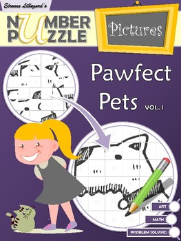 Pawfect Pets Number Puzzle Pictures Volume I