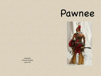 Pawnee Informational Text