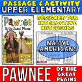 Native Americans: Pawnee Passage with Activity