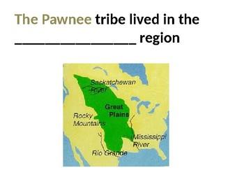 Pawnee tribe Flashcards