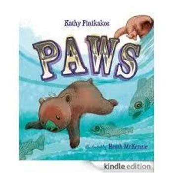 Hard Cover - Paws By Kathy Finikakos - A signed copy of my book and book mark.