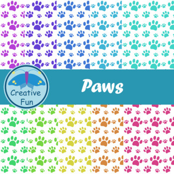 Paws Digital Paper
