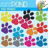 Paw Prints - FREE Clipart