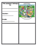 Paws In Jobland Passport Template