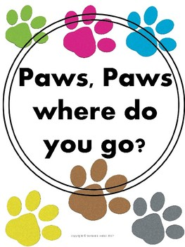 Paws, Paws where do you go?