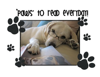 'Paws' To Read!