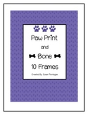 Paws and Bones Ten Frames