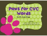 Paws for CVC Words - Real or Nonsense - CVC Spin a Word