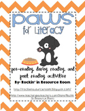 Paws for Literacy