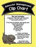 Dog-Themed Paws-itive Behavior Clip Chart