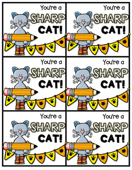 Paws-itive Notes---Happy Cat Themed Notes to Encourage, Reward, and Motivate!