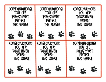 'Paws'itively Perfect Congratulations (All Subjects)