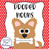"""Paw""sitively Perfect Proper Nouns: Mini-Book, Printables,"