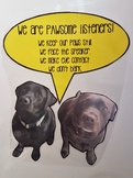 Pawsome Listeners - How to be a good listener poster- Dogs