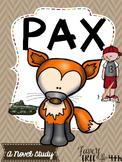 Pax: A Novel Study