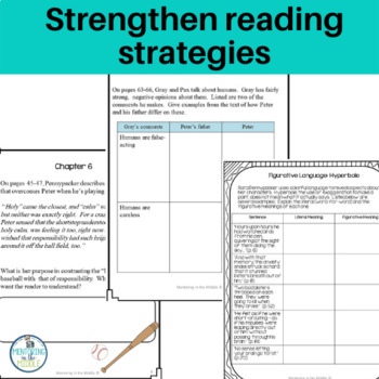 Pax: A Novel Study for Grades 6-8