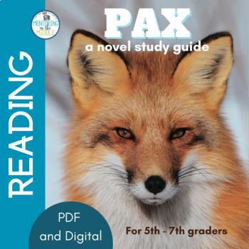 Pax Novel Study Unit for Grades 6-8