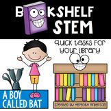 STEM Activities for A Boy Called Bat - Bookshelf STEM
