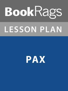 Pax Lesson Plans