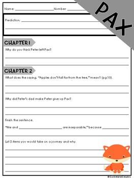 Pax Novel Guide