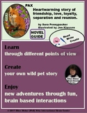 Pax - Novel Guide to Read and Write Fiction Grades 3 - 6