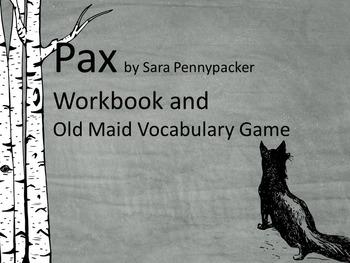 Pax Workbook (Chapter Work, Vocabulary, Vocabulary Game)