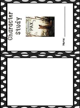 Pax Novel Study by Sara Pennypacker