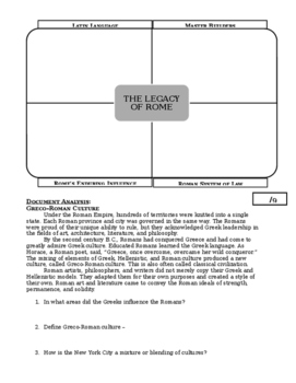 Day 017_Pax Romana and Roman Achievements - Lesson Handout