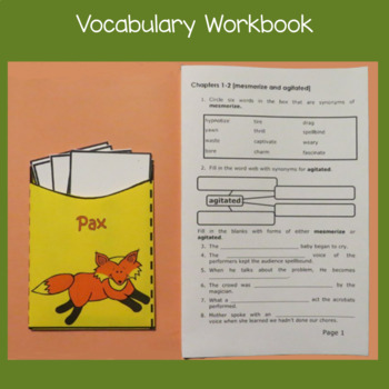 Pax [Sara Pennypacker] Abridged Printable Book Unit
