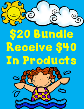 Make Your Own Bundle :Pay $20 and Receive $40 in Products Summer Sale