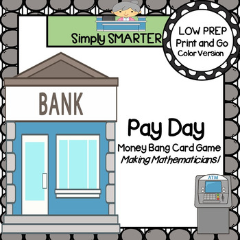 Pay Day:  LOW PREP U.S. Coins Card Game