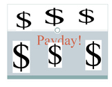 Pay Day! Personal Finance Literacy
