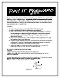 Pay It Forward Beatitudes Assignment