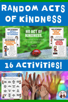 Random Acts of Kindness Cards and Ideas