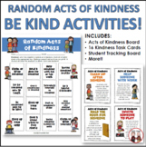Random Acts of Kindness Cards and Lessons