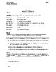 Pay It Forward Ch. 11-15 Vocabulary Quiz