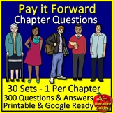 Pay It Forward Novel Study Chapter Questions and Answers