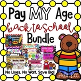 Pay My Age Back to School Bundle