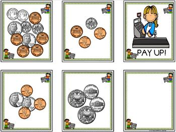 Pay Up!:  LOW PREP U.S. Coins Card Game