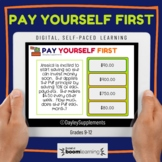 Pay Yourself First Interactive Boom Cards™ for Personal Finance